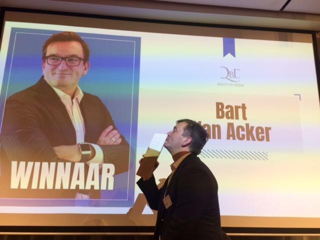 And the winner is… Bart Van Acker