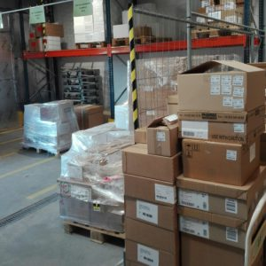 I'm taking a look into the warehouse