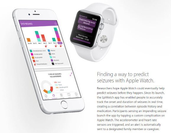 Finding a way to predict seizures with Apple Watch