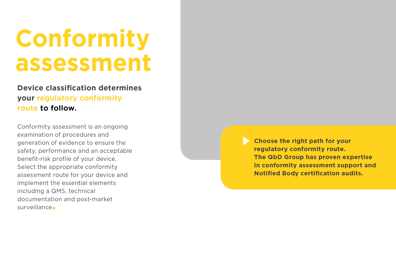 Conformity assessment