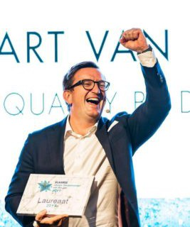 QbD CEO Bart van Acker named Flemish young entrepreneur of the year