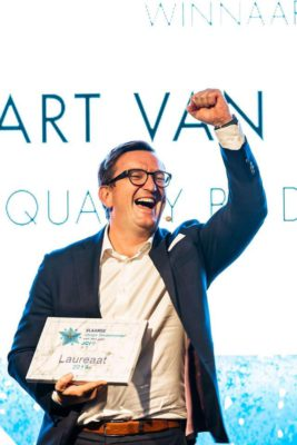 Bart van Acker Flemish Young Entrepreneur of the Year.