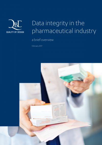 QbD whitepaper: Data integrity in the pharmaceutical industry