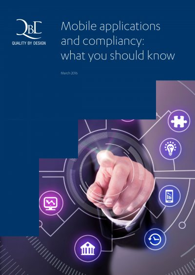 QbD whitepaper: Mobile applications and compliancy