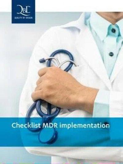 QbD whitepaper: Checklist MDR implementation