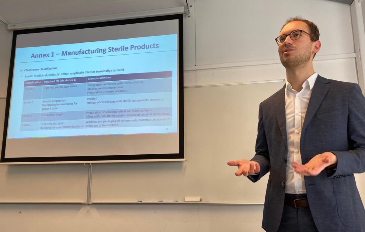 QbD teaches future biomedical engineers in Liège